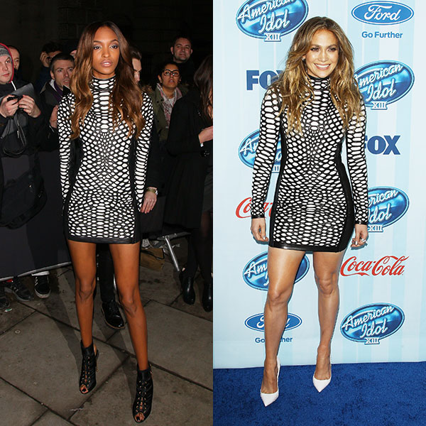 Jourdan Dunn és Jennifer Lopez