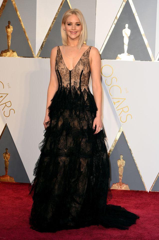 Jennifer Lawrence (Dior)