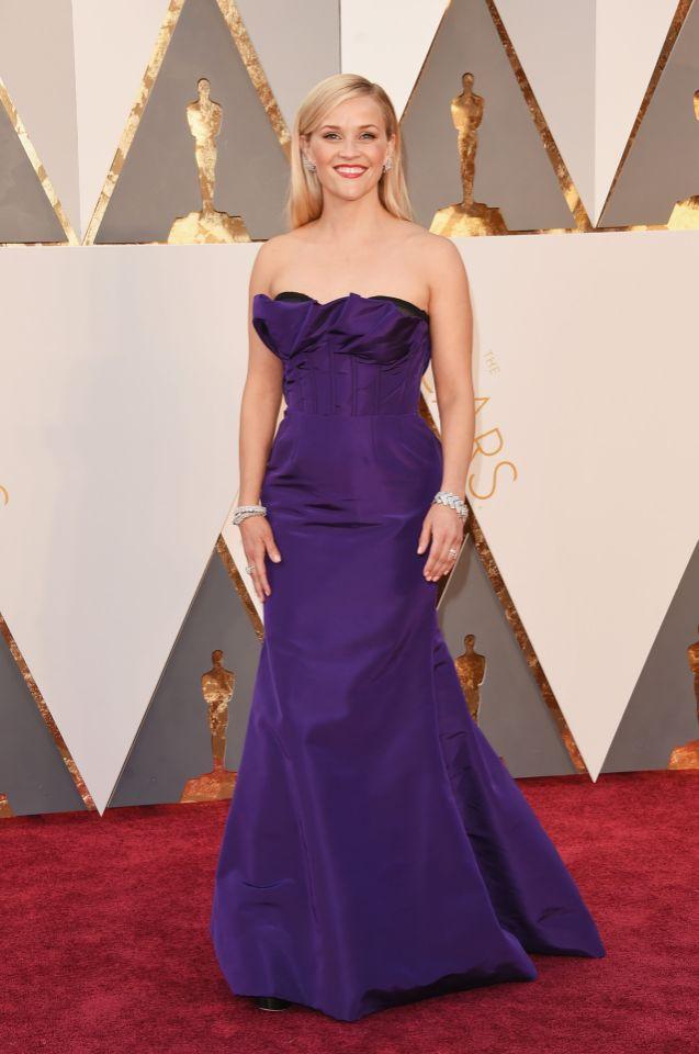 Reese Witherspoon (Oscar de la Renta)