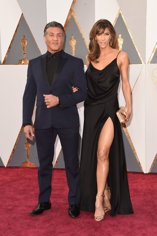 Sylvester Stallone és felesége Jennifer Flavin
