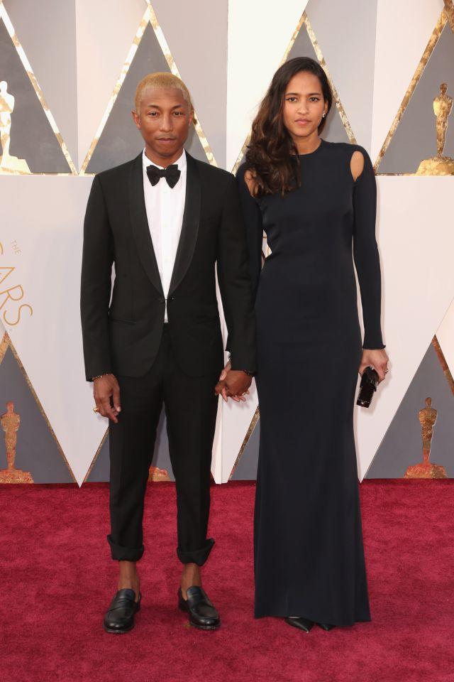Pharrell Williams és felesége Helen Lasichanh