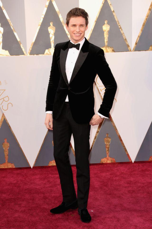 Eddie Redmayne (Alexander McQueen)