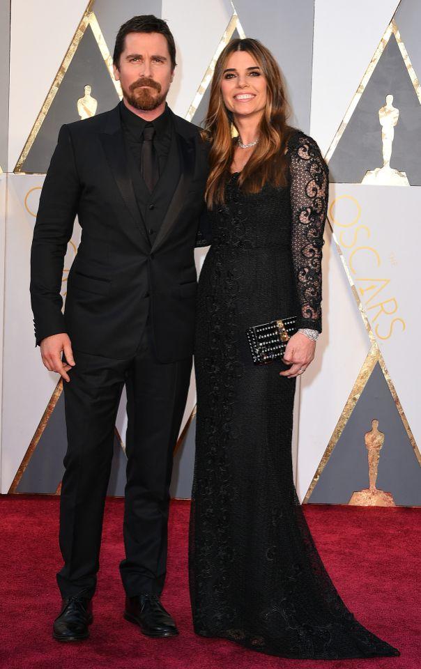 Christian Bale és Sibi Blazic