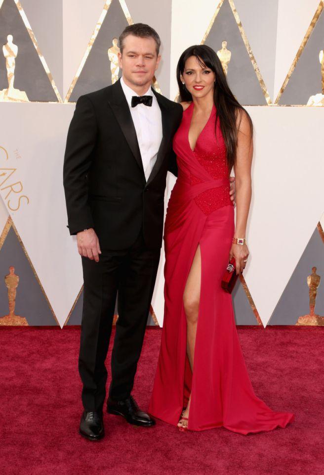 Matt Damon és Luciana Damon