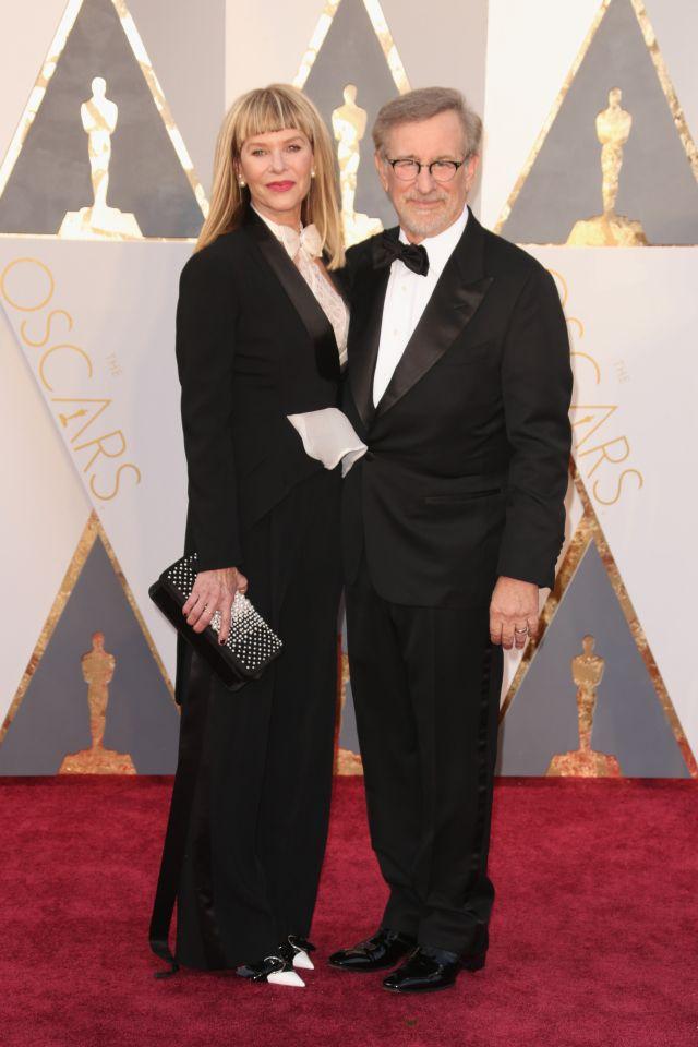 Steven Spielberg és Kate Capshaw