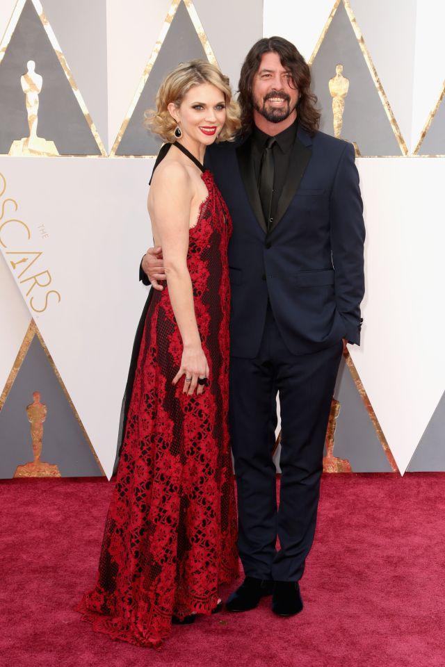 Dave Grohl és felesége Jordyn Blum