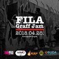 Graffiti jam a Filatorigát legálfalnál - FILA Graff Jam