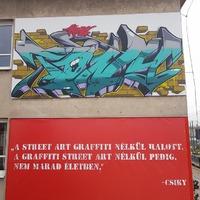 Óriásplakát művészet Szegeden
