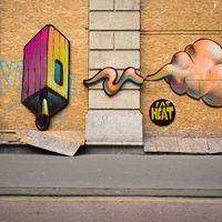 Interaktív street art installáció a Bajcsy-Zsilinszky úton