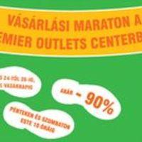 Vásárlási maraton a Premier Outlets Centerben - Akciócsomag