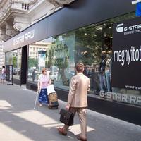 Attól, hogy kiírom a boltomra, hogy Andrássy út, az még a Bajcsyn marad. Megnyílt a budapesti G-Star Raw