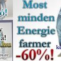 Akciócsomag: Energie farmerek féláron