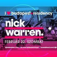 Program ajánló: I ♡ Budapest Residency with Nick Warren