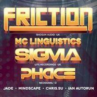 Program ajánló: BLZ: Friction, Phace, Sigma