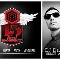 Program ajánló: BLZ15: Calibre & MC DRS, DJ Die