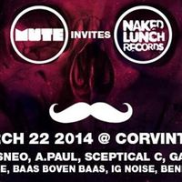 Program ajánló: Mute invites Naked Lunch Records ! w/Eric Sneo, A.Paul and more!
