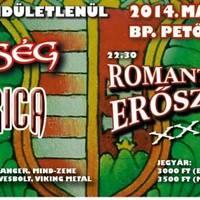 Program ajánló: ROMANTIKUS ERŐSZAK (20 ÉVES JUBILEUM)/HUNGARICA (LEMEZBEMUTATÓ)/ÖRÖKSÉG (EX-KORMORÁN)
