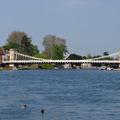 Az főváros első hídja, melyet a jég és a nemesek is tönkre akartak tenni