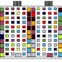 Panelház kavicsból és pixelből