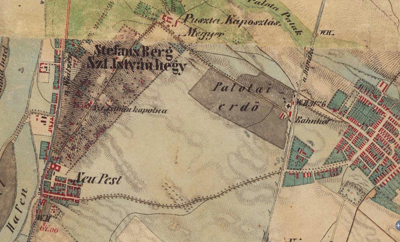 Káposztasmegyer 1869 előtt