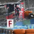 Kamion-Eb: Óriási baleset után lefújták Kiss Norbiék második futamát