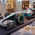 Bemutatta új F1-es festését a Mercedes