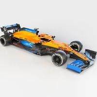 F1: Bekékült az új McLaren – íme, az MCL35!
