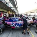 Átment a Racing Point F1-es autója a törésteszteken