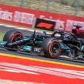 F1: Schumacher nagyot esett a Hungaroringen, Hamilton az élen