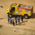 Magyar kamionos csapat vitte a prímet az Africa Eco Race-en