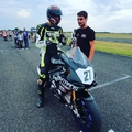 Futamot nyert a 18 éves magyar motoros