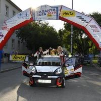 Kia Platinum Rally Cup: Krajnyákék nyerték a Baranya-kupát