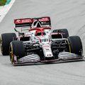 Kubicával járatta meg új F1-es autóját az Alfa Romeo