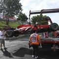F1: Leclerc motorja menthetetlen, büntetés vár rá