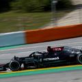 F1: Lapos végjáték után megvan Hamilton 100. pole-ja