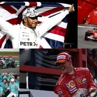 F1: Fontos rekordot vehet el Hamilton Schumachertől