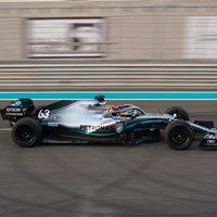 F1: 100 kört tesztelt Russell-lel a Mercedes Abu-Dzabiban