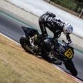 Törött lábbal is kétszer állt dobogóra a magyar motorversenyző