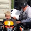 F1: Először pattant gokartba Kimi Räikkönen fia