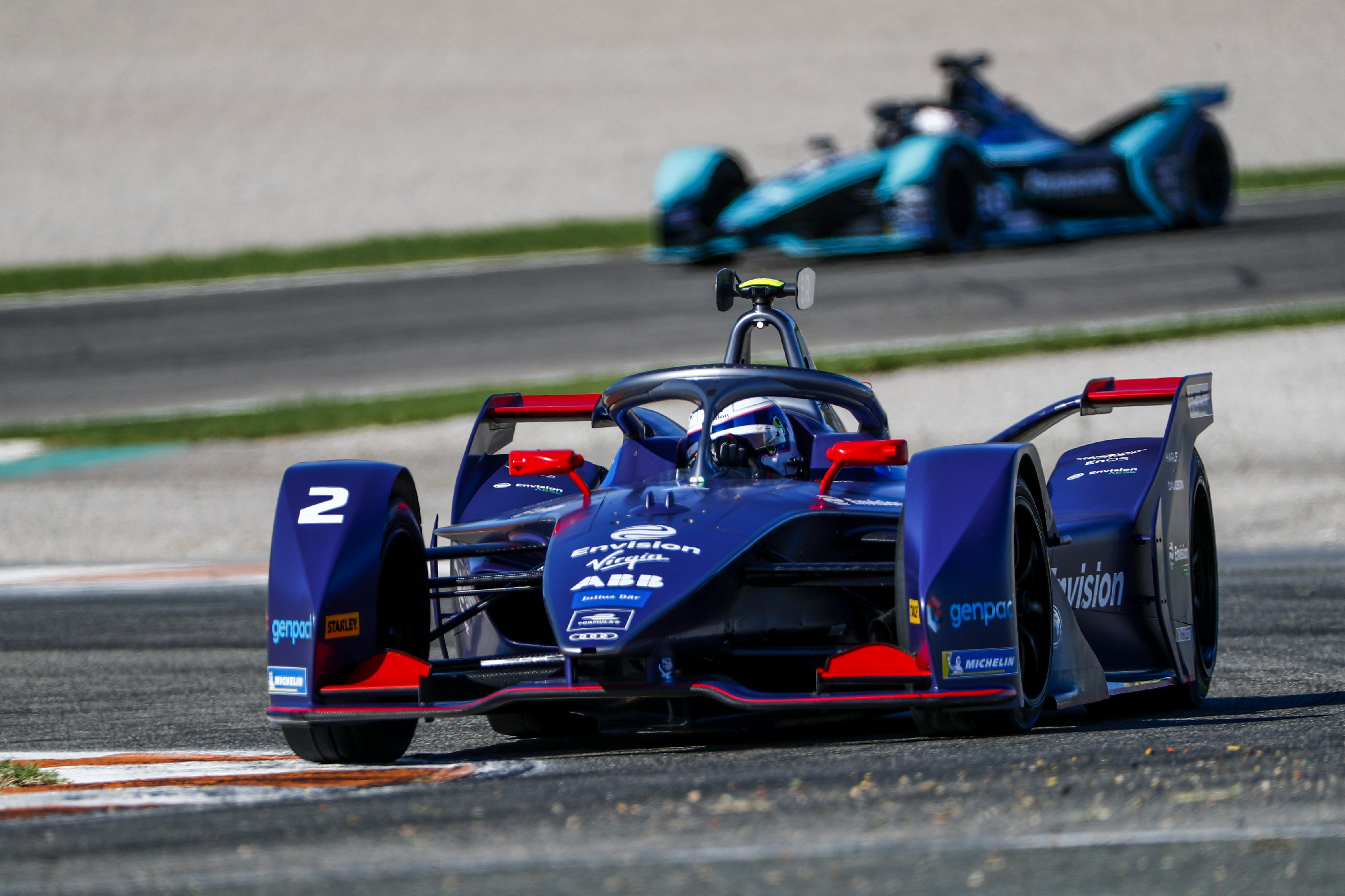 Formula-E: Bird az élen az első tesztnapon