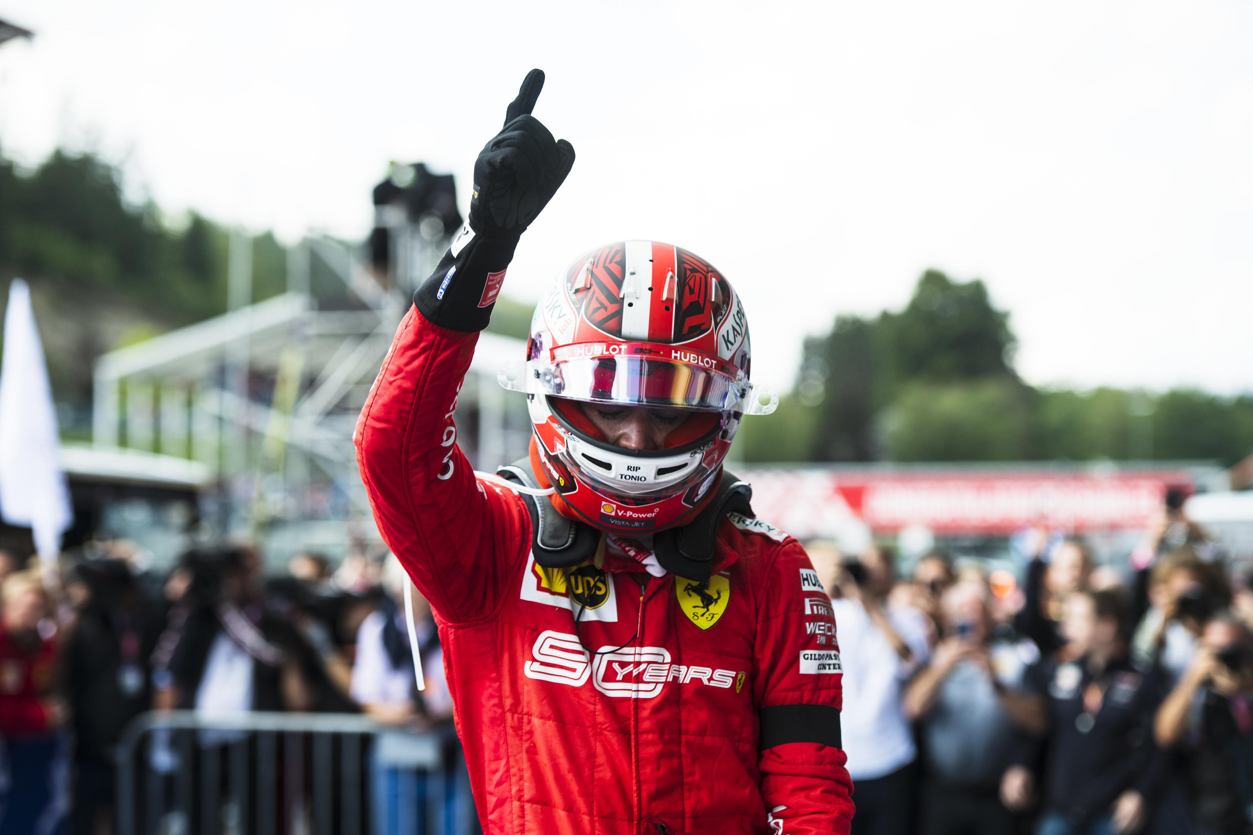 F1: Hubert tragédiája után nehéz szívvel térnek vissza Leclerc-ék Spába