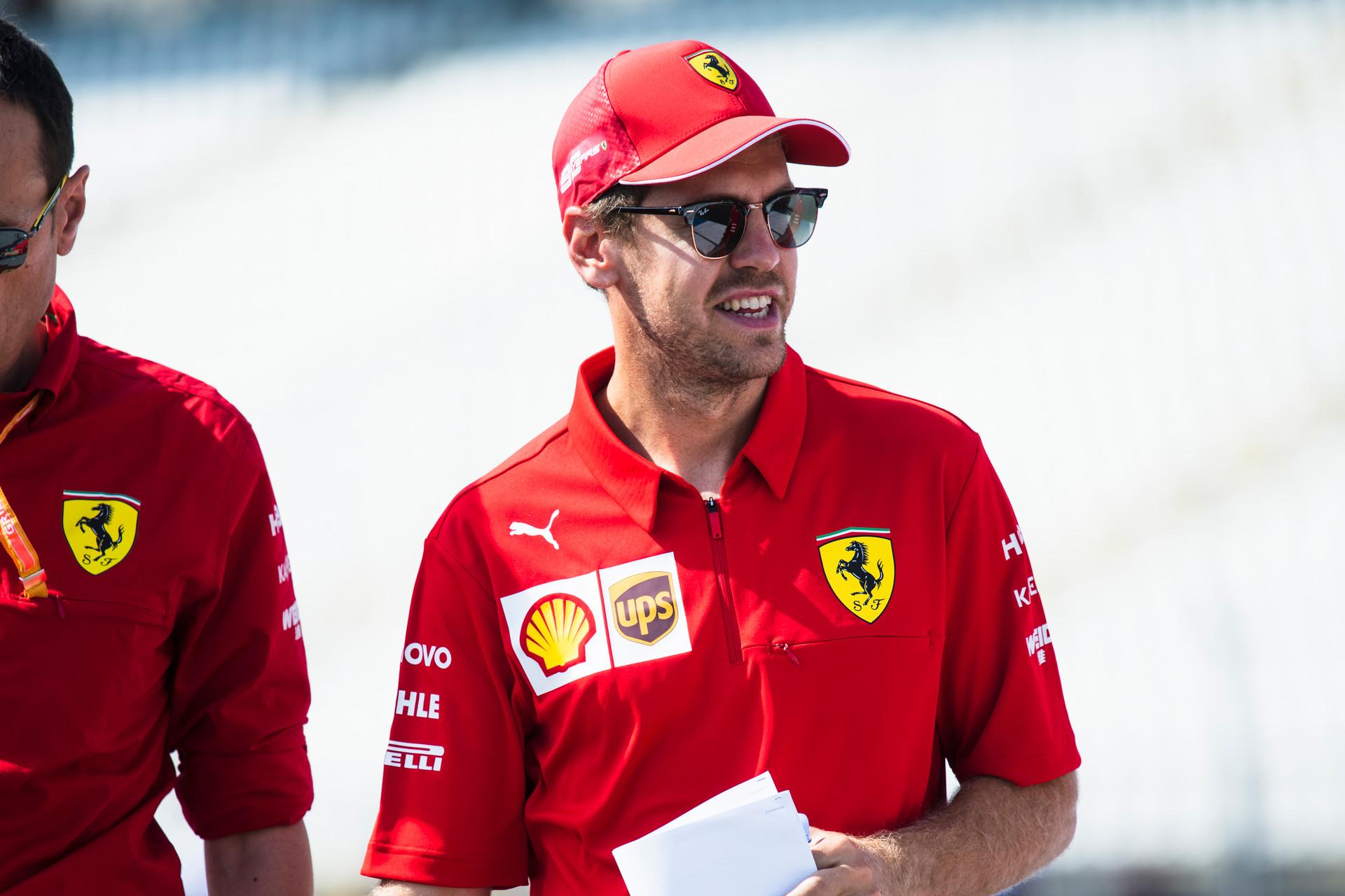 F1: Vettel kezdett az élen a hockenheimi forróságban