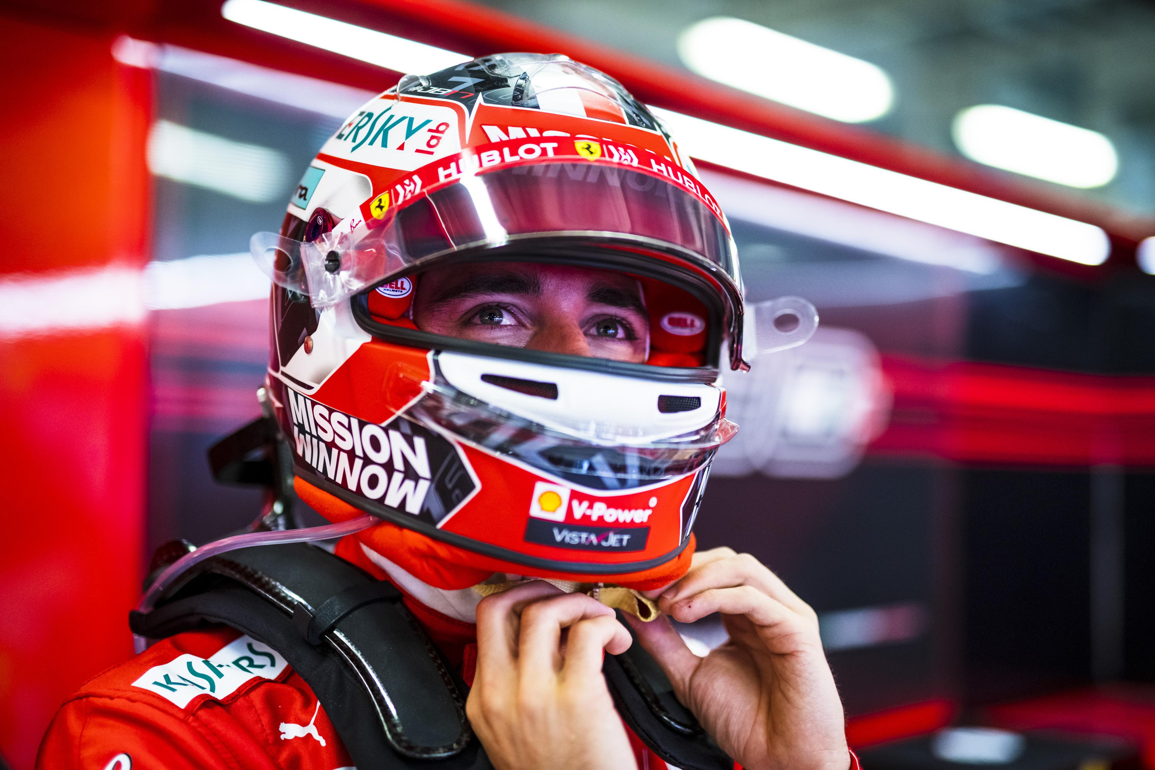 F1: A Ferrarinál Leclerc fog tesztelni a 2021-es gumikkal