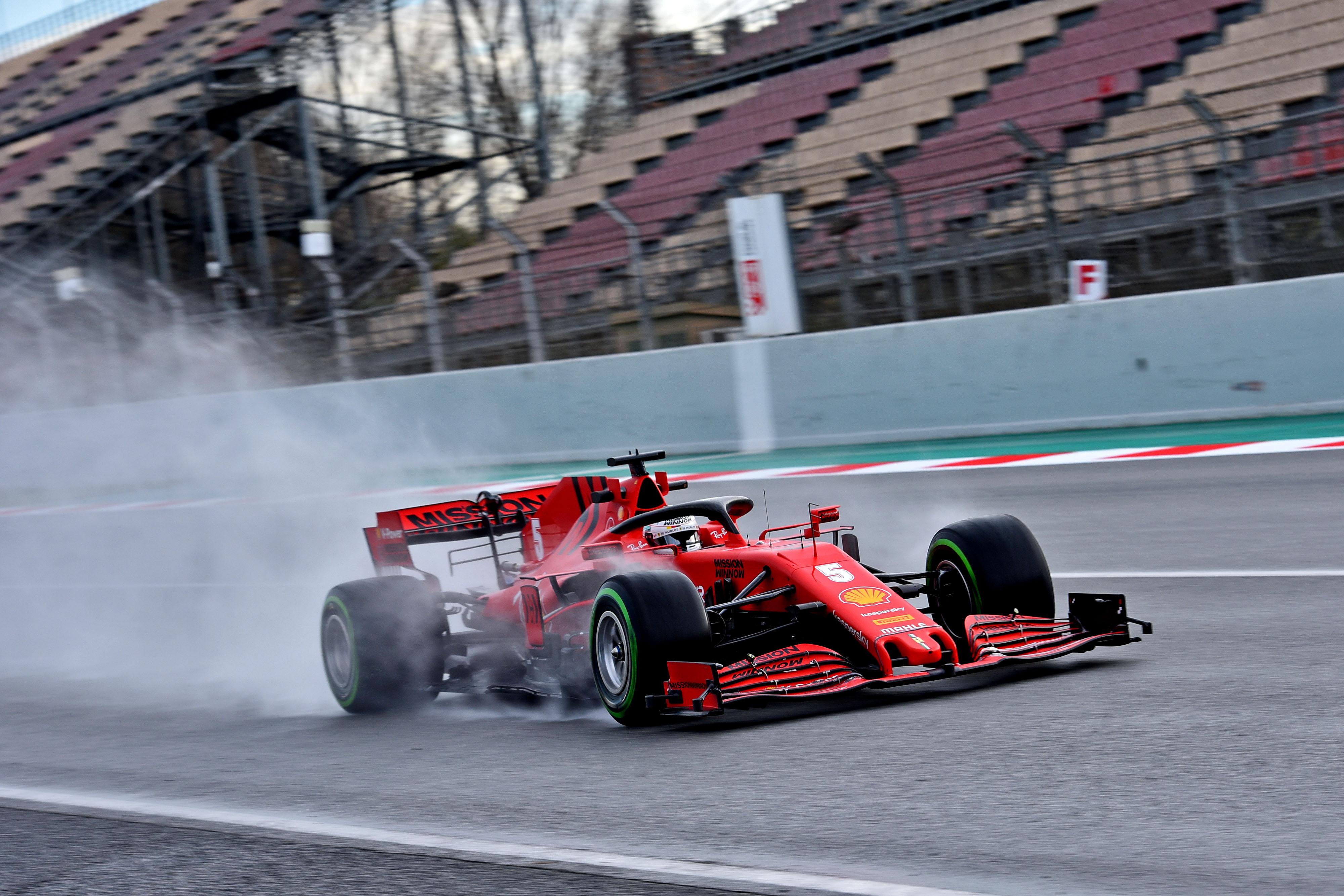 F1: Pörgés-forgás Barcelonában, Vettelé az ötödik nap