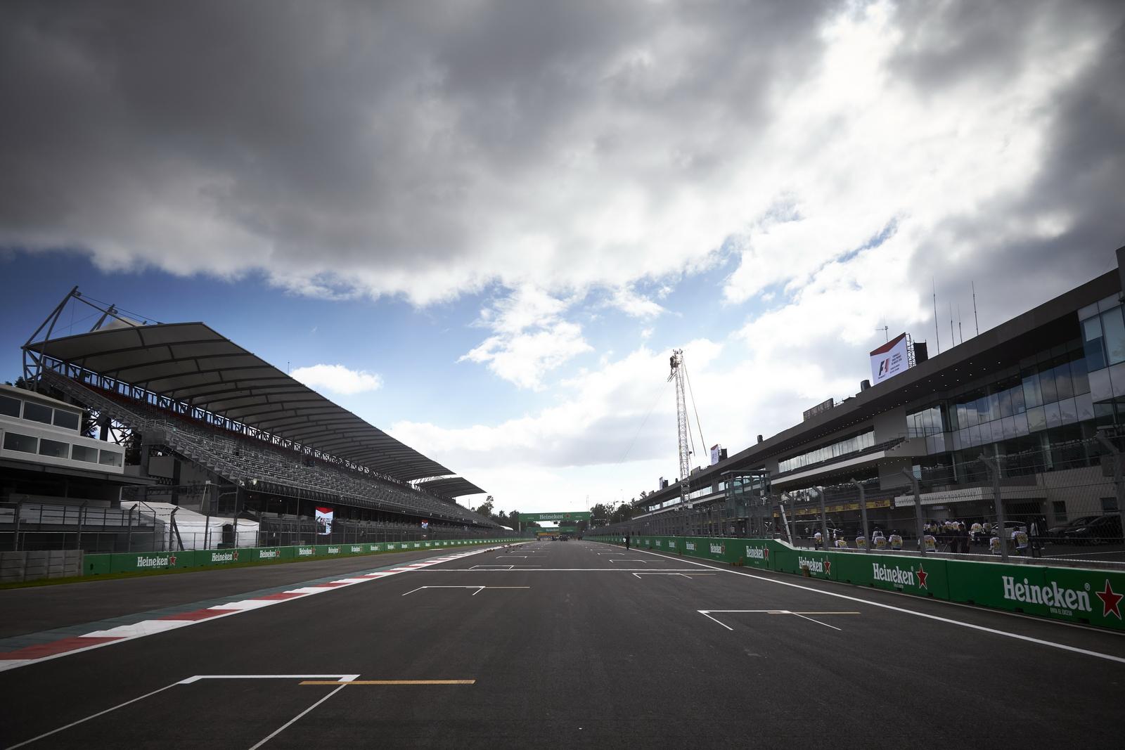 F1 - 2016, MEXIKÓI NAGYDÍJ: A RAJTRÁCS