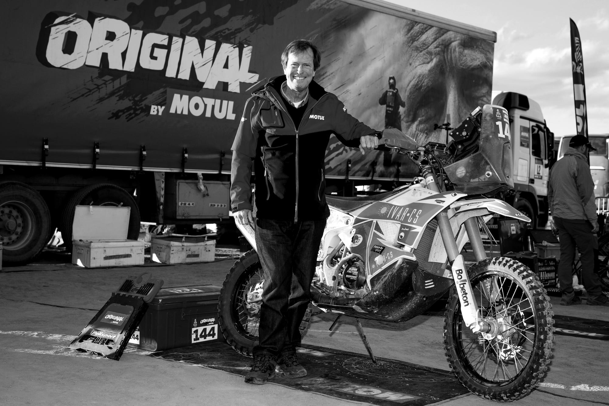 Elhunyt a háromszoros Dakar-győztes versenyzőlegenda
