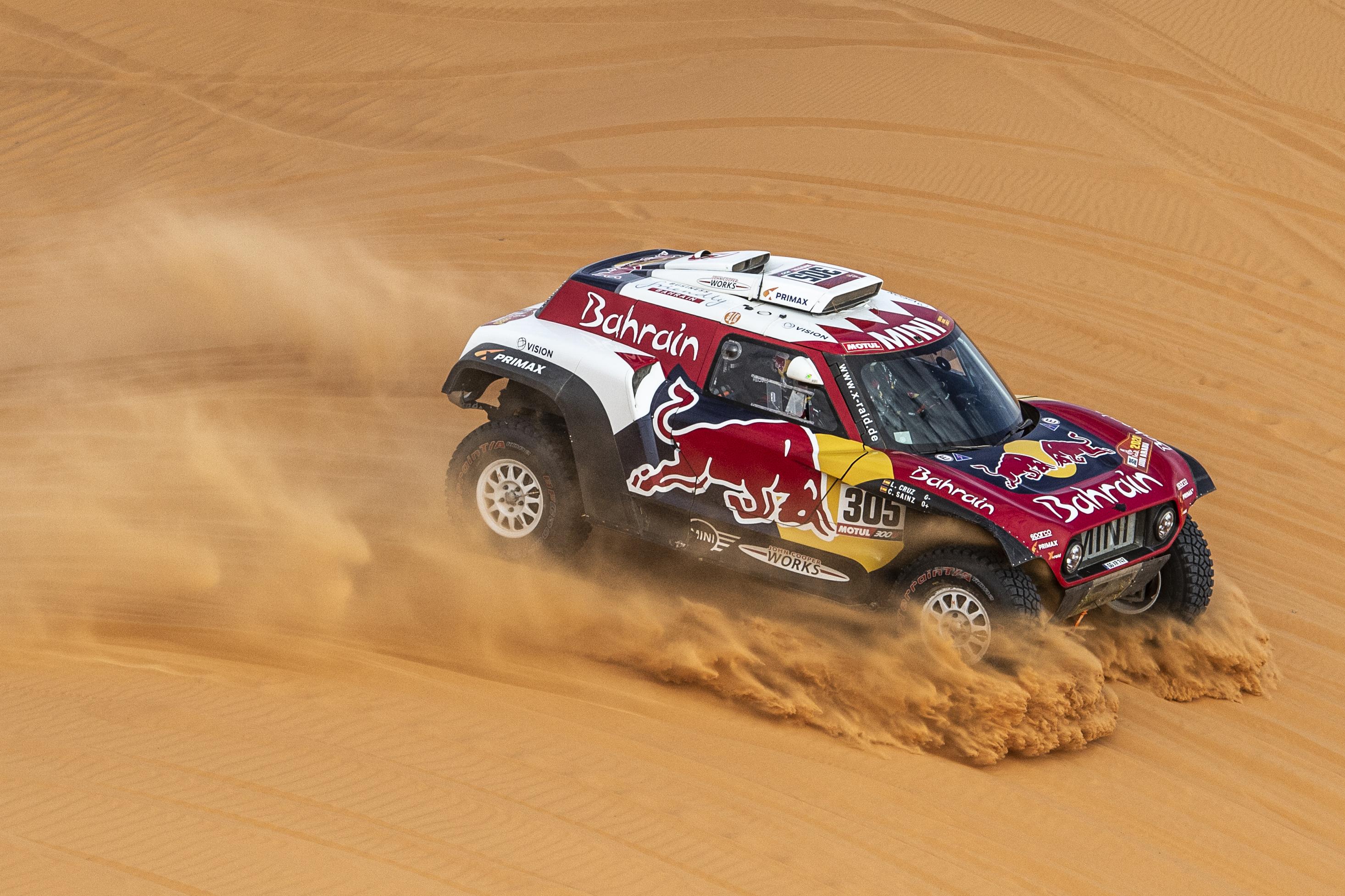 Carlos Sainzé a 2020-as Dakar, Alonso 13.-ként ért célba