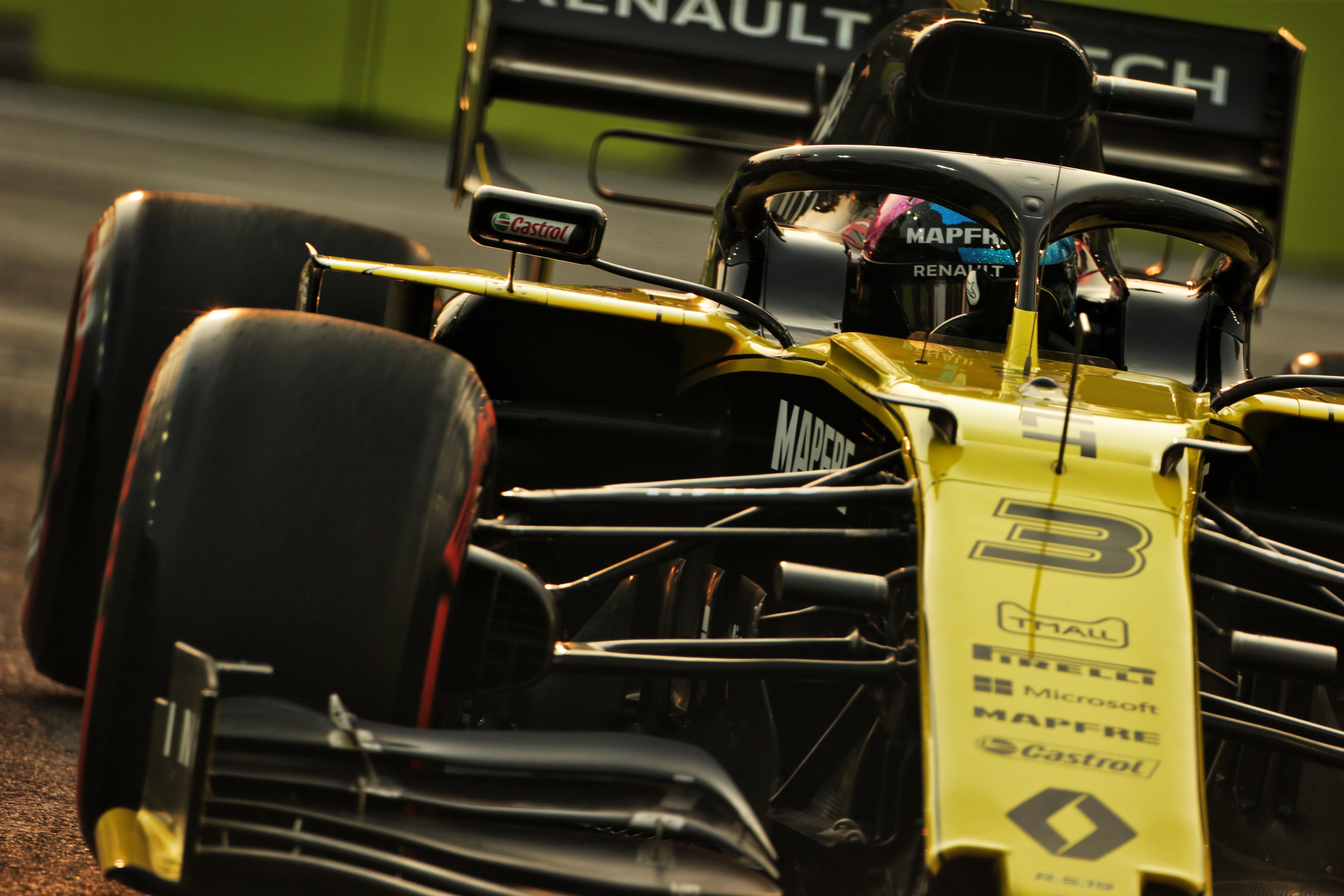 F1: Szabálytalan volt Ricciardo autója, kizárták az időmérőről