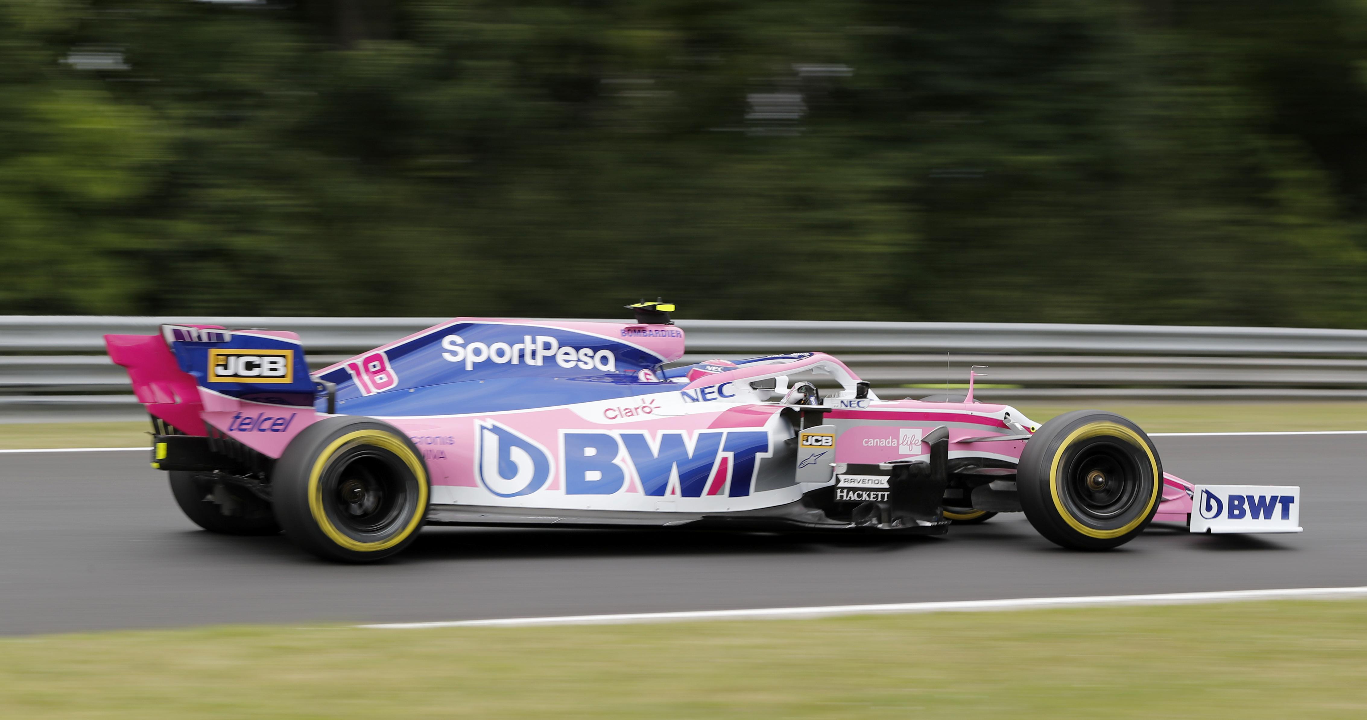 F1: Nincs hatással a Racing Pointra a névadó támogató körüli kavarás