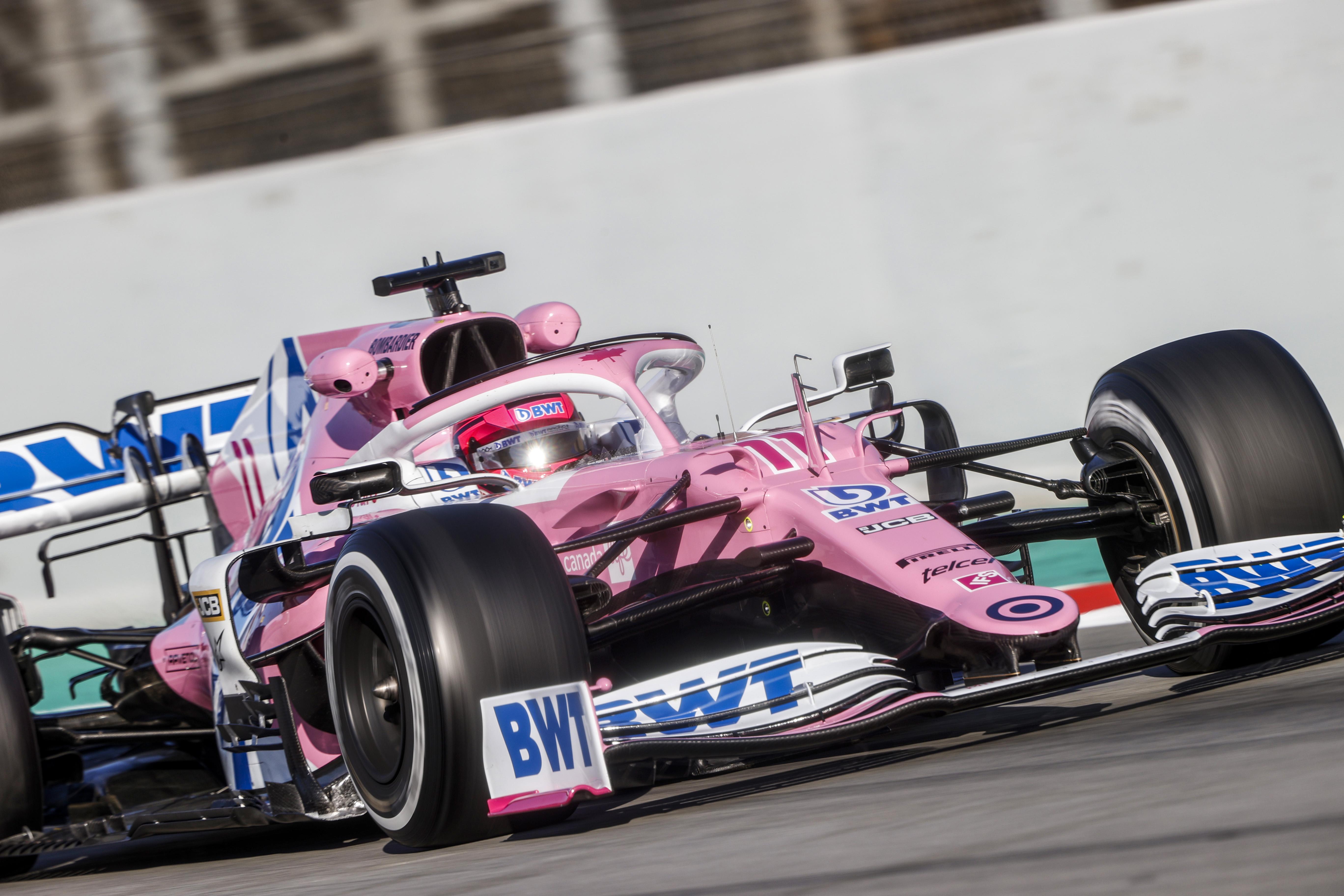 """Pérez az új Racing Pointról: """"Ennyire jó autóval még nem kezdtem szezont!"""""""